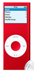 Apple Announces New 8GB Model of iPod nano (PRODUCT) RED Special Edition