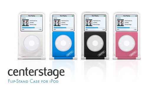 REVIEW: Centerstage Flip-Stand Case for iPod