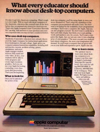 Flashback: Apple ][ Print Ad