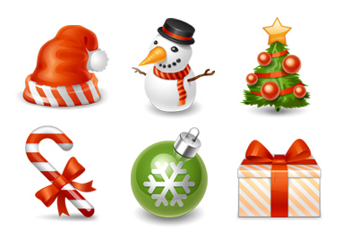 Add some Holiday Cheer to your Desktop Icons