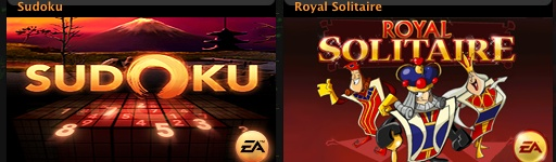 Two New iPod Games: Sudoku & Royal Flush Solitaire