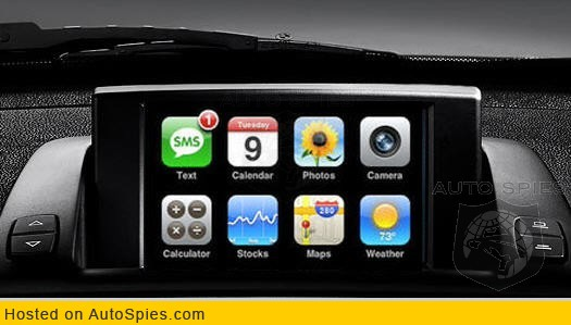 RUMOR: BMW to feature full iPhone Integration?