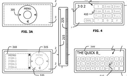 "Patent Filing: iPod/iPhone Nano w/ ""Touch Surface"" On Back"