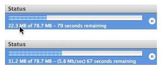 OSX Quicktip: Check your download speed in iTunes