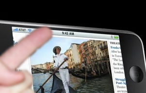 iPhone Quick tip: Scroll up to the Address bar with one touch