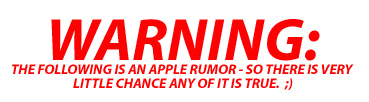 Apple Rumor Round-up: The Rumor Mongers are out in Full Force