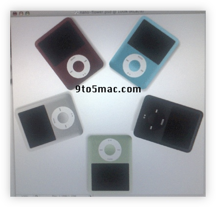 RUMOR: These can't REALLY be the new iPod Nanos, can they?