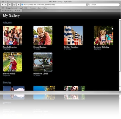 Check out a .Mac Web Gallery in Action