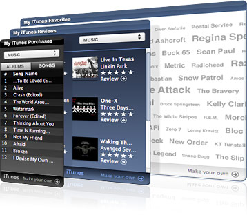 Apple Enters the Social Music Arena with My iTunes