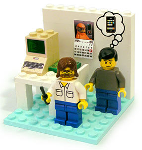 Got $39.95? How about Woz and Jobs Legos...you know you want them...