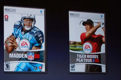 EA finally ships Tiger Woods PGA Tour 08, Madden NFL 08