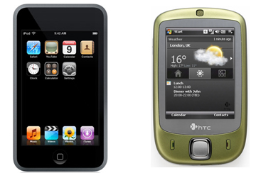 If HTC sues Apple over Touch name, does Apple get to sue over HTC stealing everything else?