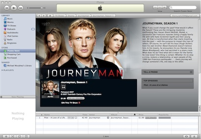 Some NBC Shows appear in iTunes...Some Don't.