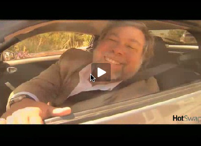 Got $100,000? Want to buy Woz's car?