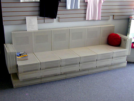 Pic: Couch Made entirely of Mac IIs