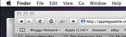 Quick Tip: How to get rid of the Transparent Menu Bar in Leopard