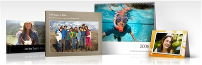 Save 20% on iPhoto Books and Calenders