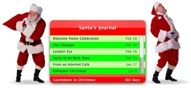 Widget Watch: Santa's Journal