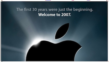 A Look back at Apple in 2007