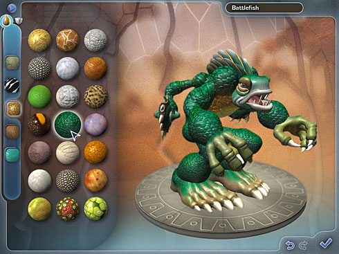 "Hands On ""Spore"" Creature Creator from EA"