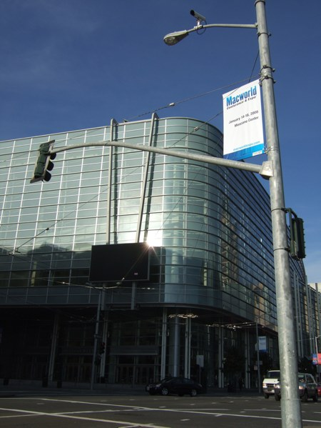 Macworld 2008: Banners are up!