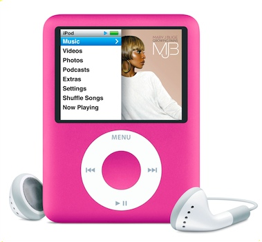 Apple ads Pink iPod Nano just in time for Valentine's Day