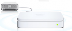Airport Extreme update adds USB Hard Drive back-up function
