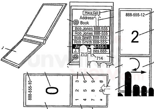 iPhone Clamshell Patent sure to get rumor mill stirred up