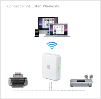 Apple introduces New Airport Express, now with 802.11n