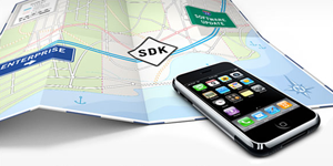 Over 100,000 Developers have downloaded the iPhone SDK