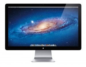 Thunderbolt Display: front view