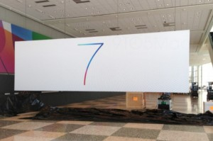A closer look at the iOS 7 banner.