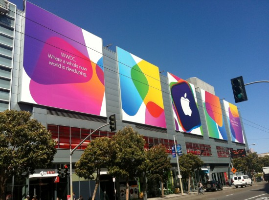 Metreon Mall at WWDC 2013