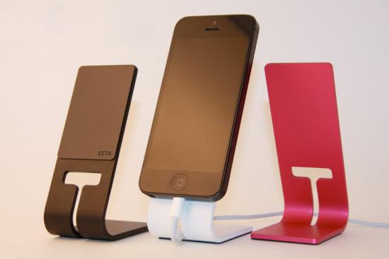 kickstarter seta smartphone stand