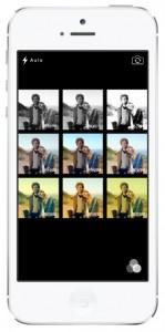 iOS 7 screenshots camera filters