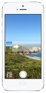 iOS 7 screenshots camera panorama