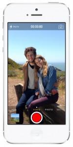 iOS 7 screenshots camera video