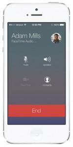 ios 7 facetime audio mode hidden features