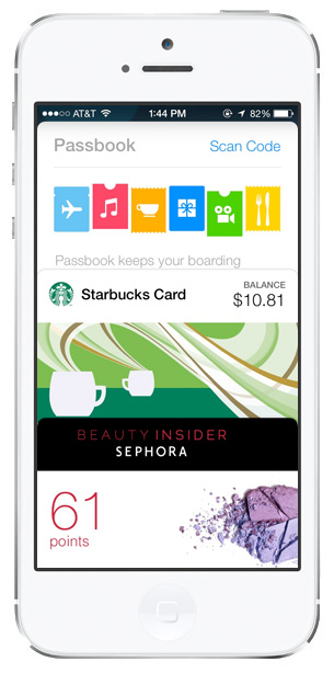 ios 7 passbook qr codes hidden features