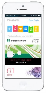 iOS 7 screenshots passbook