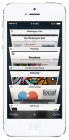 iOS 7 screenshots safari tabs