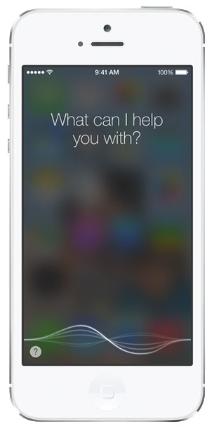iOS 7 screenshots siri