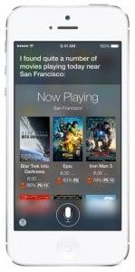 iOS 7 screenshots siri