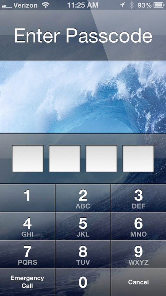 Passcode Lock screenshot