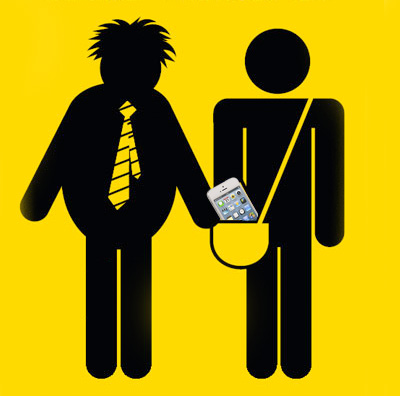 iPhone Pickpocket sign