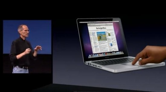 Steve Jobs MacBook