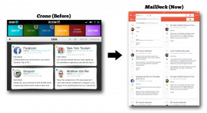 Full-sized screenshots of MailDeck are at the end of this article.