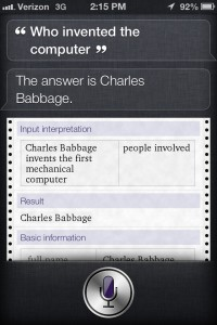 siri fact search wolfram alpha