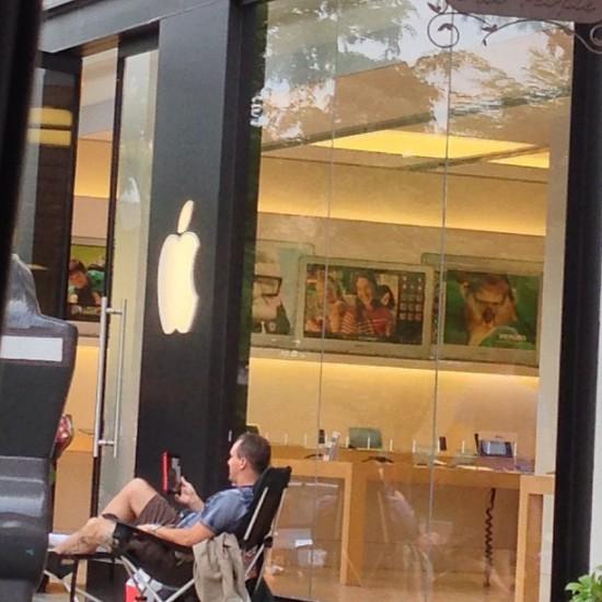 iphone 5s 5c lines apple stores arlington virginia