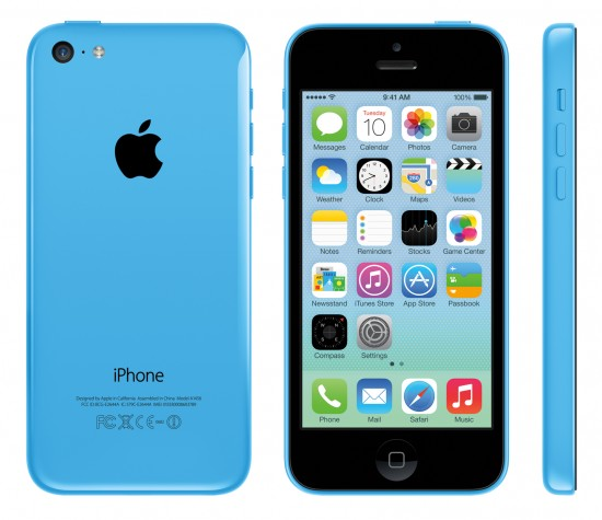 iPhone 5C (blue)